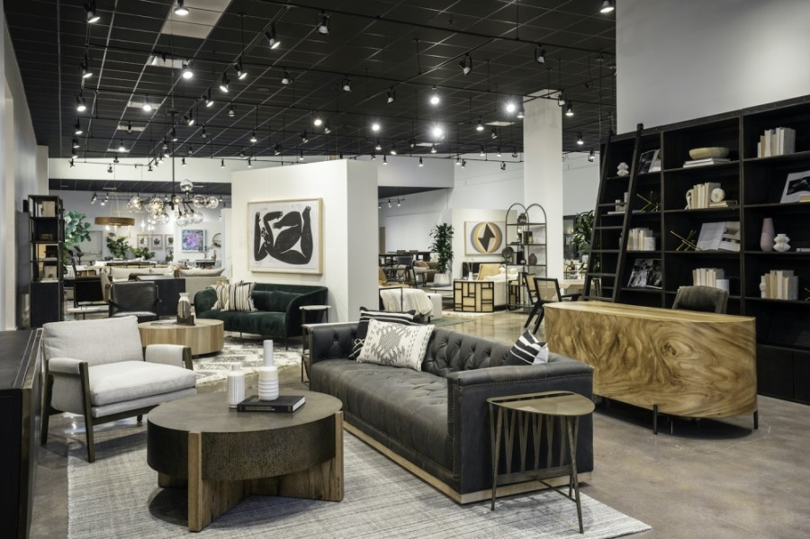 Four Hands opened its newly renovated and expanded flagship showroom this month. (Courtesy Merrick Ales)