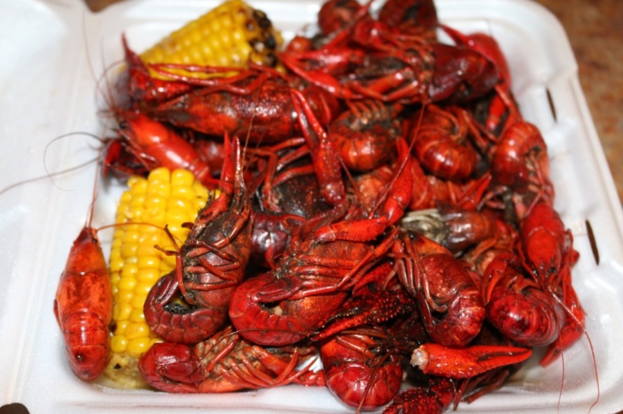 The crawfish boil is $16 a plate and includes a pound and a half of crawfish. (Courtesy Chamber of Commerce)