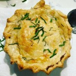 The gumbo pie is a House of Roux original. (Courtesy House of Roux)