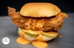 The Spicy Fried Chicken Sando is one of several offerings on Fuku's menu. (Courtesy Fuku)