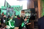 Austin FC supporters celebrate the official announcement of the team in January 2019. (Amy Denney/Community Impact Newspaper)