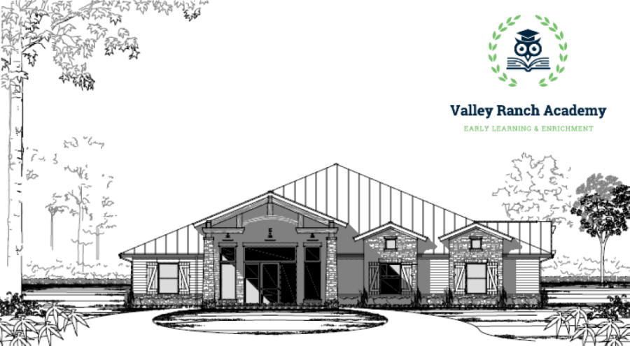 Valley Ranch Academy will open this fall. (Illustration courtesy The Signorelli Co.)
