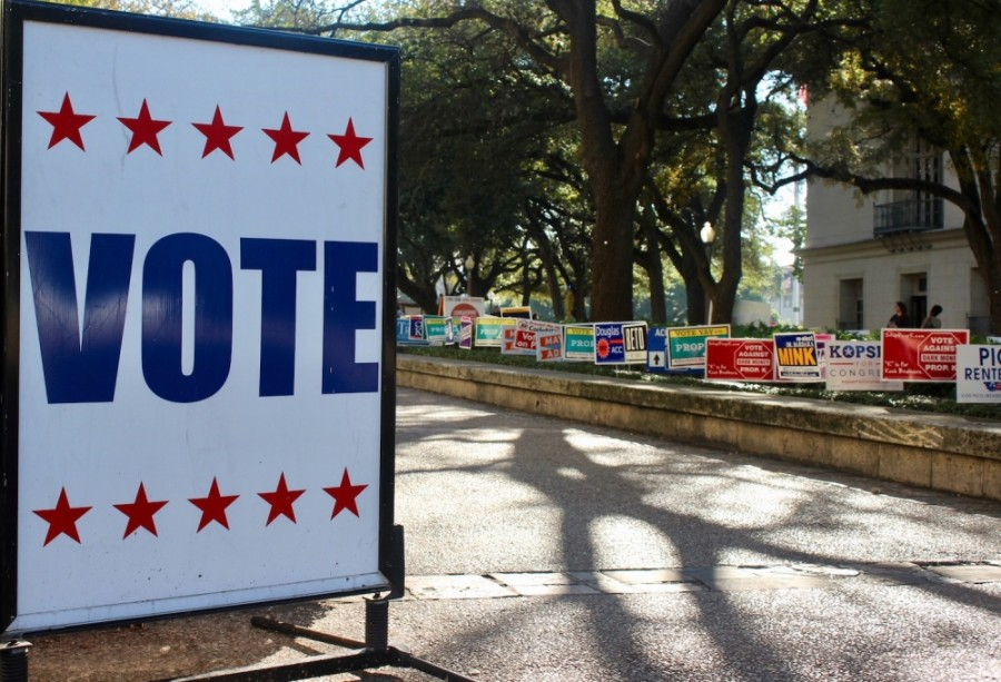 Williamson County voter turnout was less than 1% in the first day of early voting. (Taylor Jackson Buchanan/Community Impact Newspaper)