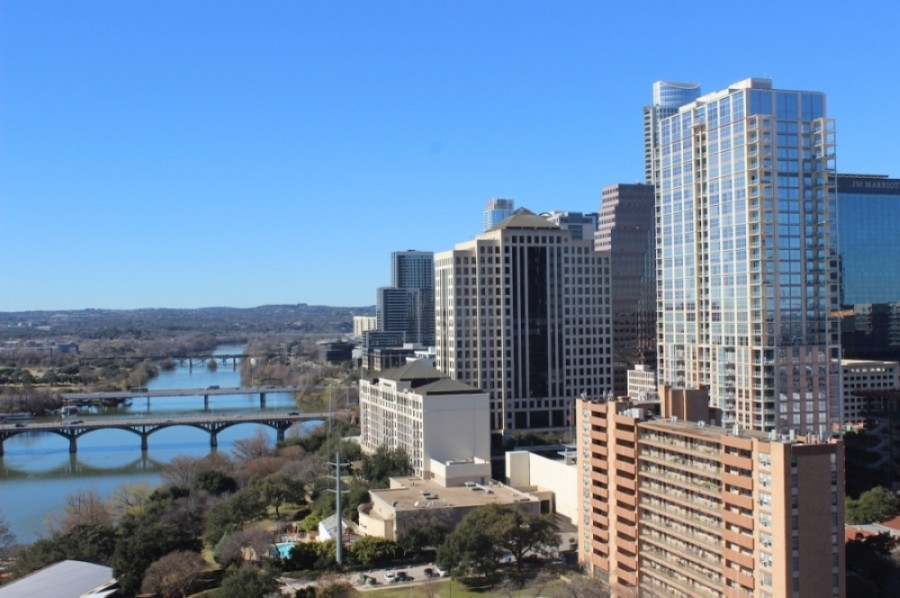 The Austin Downtown Alliance shared its 2021 State of Downtown report and new recovery and resiliency plan April 21. (Christopher Neely/Community Impact Newspaper)