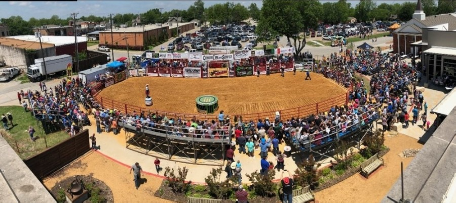Roanoke has added a rodeo event to its lineup for Roanoke Roundup on May 1. (Courtesy city of Roanoke)