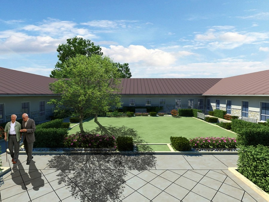 The privately owned business will offer memory care services and assisted living for individuals with Alzheimer's disease and dementia. (Rendering courtesy The Bradford Memory Care)