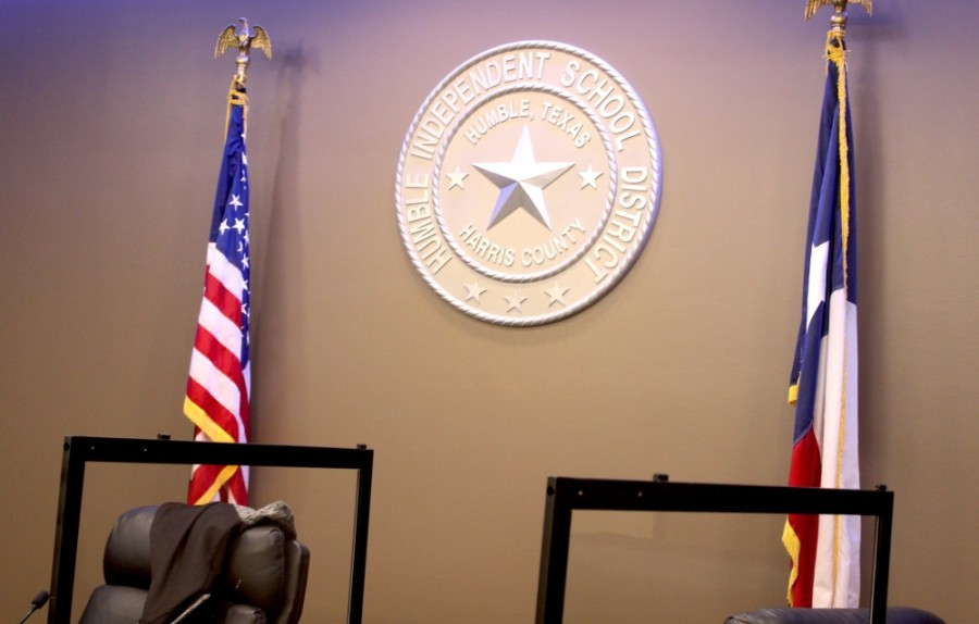 At a special school board meeting April 22, Humble ISD's board of trustees unanimously voted to amend two points of the district's mask policy, which was set at the March 9 board meeting. (Kelly Schafler/Community Impact Newspaper)