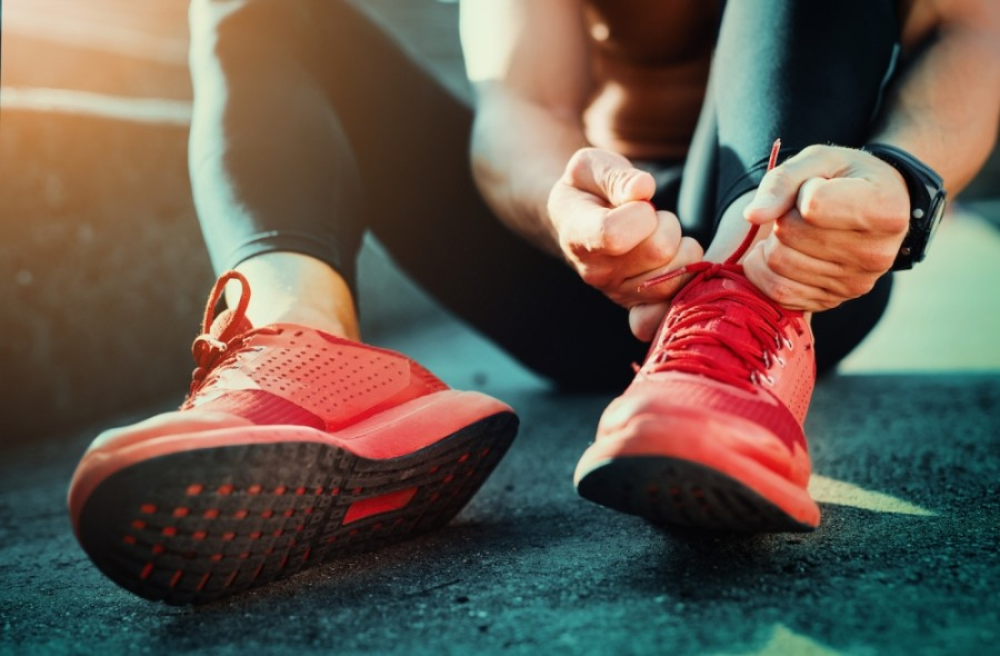 Residents are encouraged to walk, run and get outside while listening to audiobooks this May. (Courtesy Fotolia)