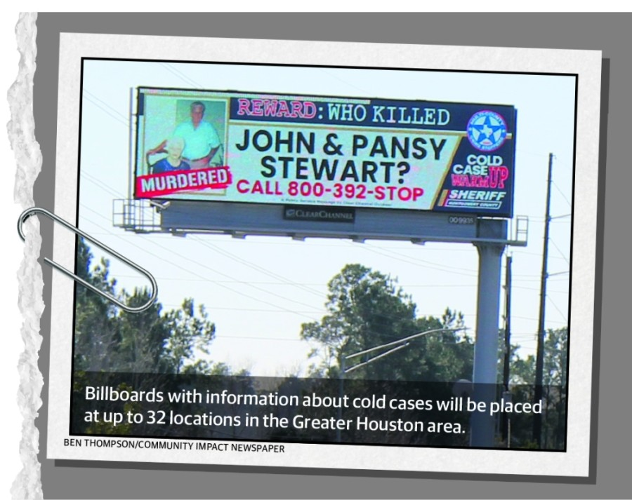 Billboards will be placed at up to 32 locations in the Greater Houston area as part of the Montgomery County effort. (Ben Thompson/Community Impact Newspaper)