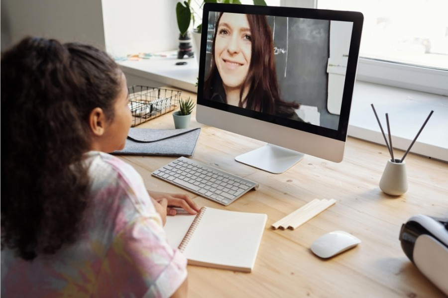 Spring ISD's new virtual academy would offer a combination of synchronous and asynchronous instruction while allowing students to stay connected with their zoned campus through virtual clubs and in-person extracurricular activities. (Courtesy Canva)