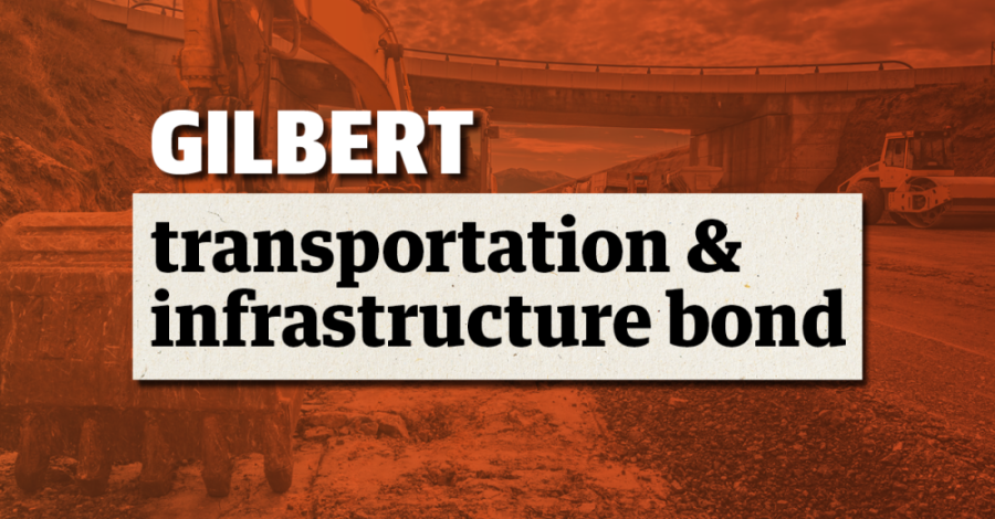 Gilbert anticipates putting a transportation and infrastructure bond on the November ballot. (Adobe stock image/Community Impact Newspaper)