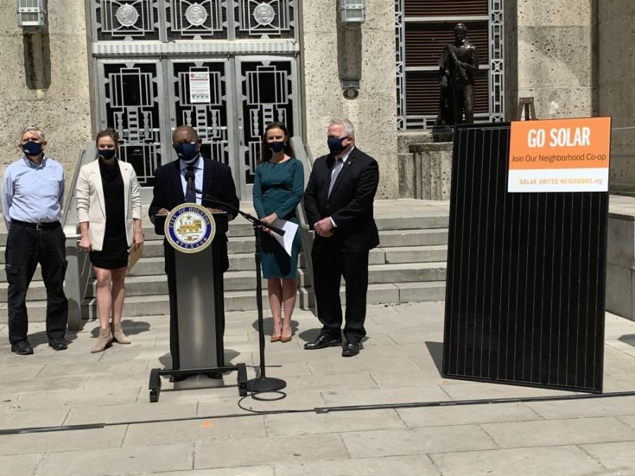 Mayor Sylvester Turner press conference