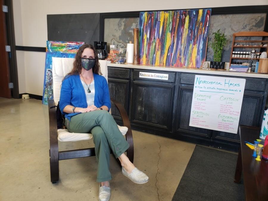 Bethany Sweeden began her art therapy practice in 2012. (Ali Linan/Community Impact Newspaper)