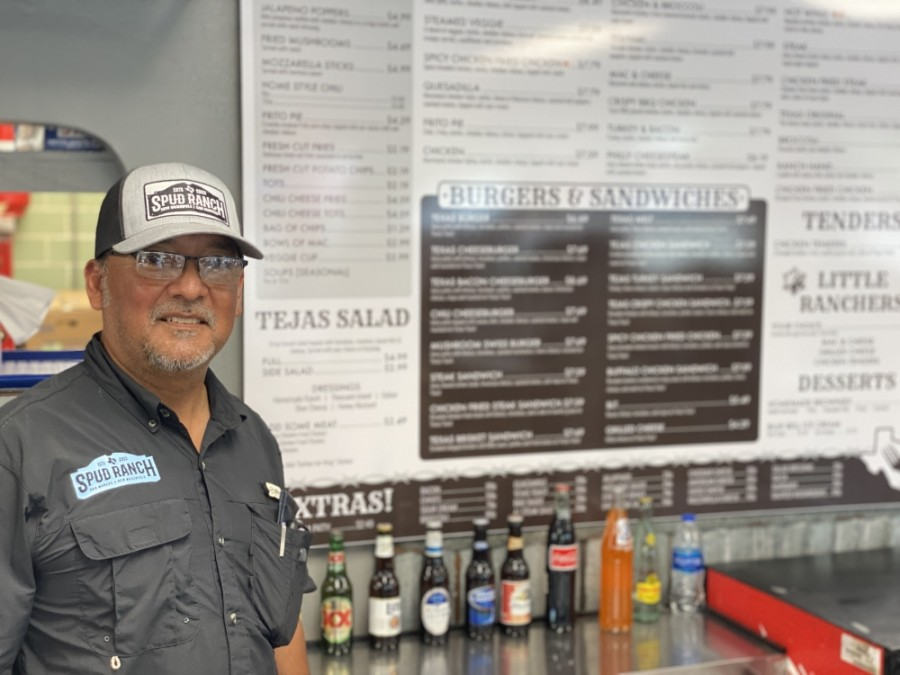 J.R. Gallegos opened the first Spud Ranch location in 2003 in San Marcos. (Photos by Brian Rash/Community Impact Newspaper)