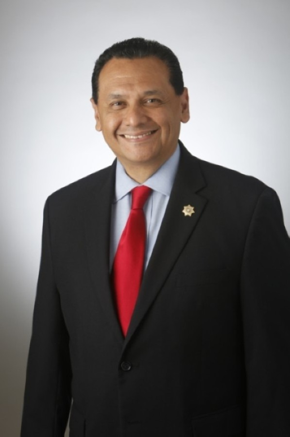 Ed Gonzalez was first elected Harris County sheriff in 2016 and was re-elected in 2020 after earning the highest vote total of any candidate on the countywide ballot. (Courtesy Sheriff Ed Gonzalez)