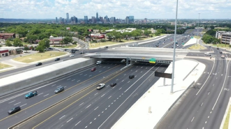 TxDOT is holding a virtual public hearing through May 26 for a $300 million project on I-35 in South Austin. (Courtesy TxDOT)