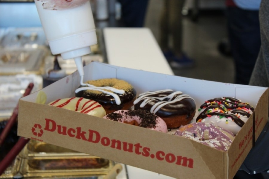 Signature flavors include Maple Bacon, s'mores and Chocolate Caramel Crunch. (Wendy Sturges/Community Impact Newspaper)