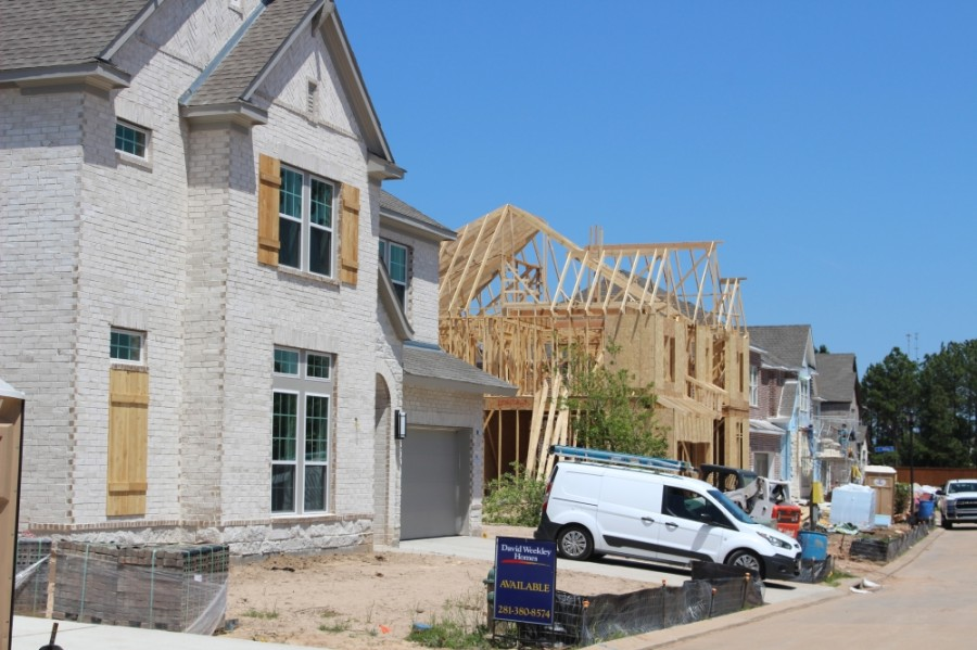 Wellman Manor construction will be completed this summer. (Andrew Christman/Community Impact Newspaper)