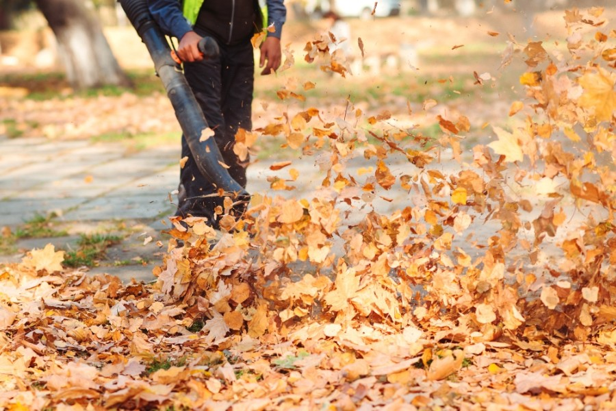 Amendments to the West University Place noise ordinance will go into effect May 3. Included in those changes is a 70-decibel cap on leaf blowers. (Courtesy Adobe Stock)