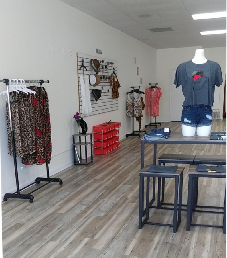 Boxed N Fashion relaunched its business May 1. (Courtesy Boxed N Fashion)