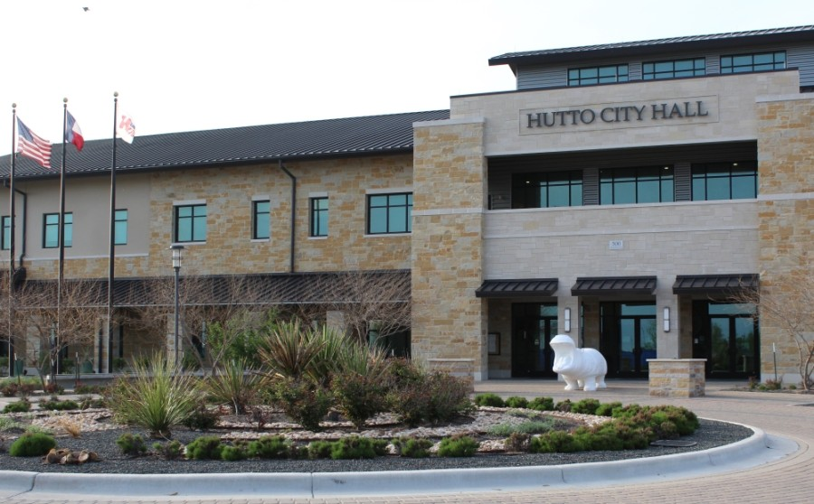 Hutto City Hall and Municipal Court will reopen to the public May 3. (Megan Cardona/Community Impact Newspaper)