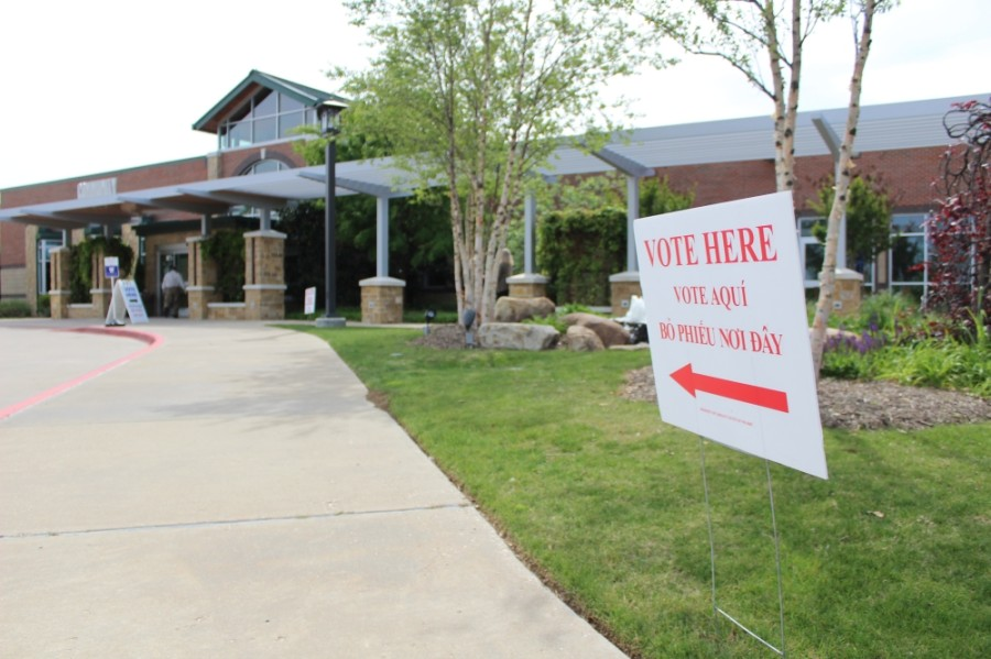 Grapevine City Council Place 2 incumbent Sharron Rogers faces challengers Theresa Lopez Strayer and Breann Burke for the May 1 election. (Sandra Sadek/Community Impact Newspaper)