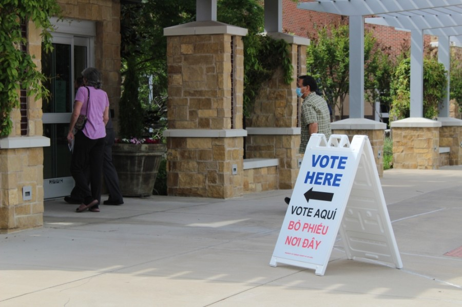Two seats on the Southlake City Council are on the May 1 ballot. (Sandra Sadek/Community Impact Newspaper)
