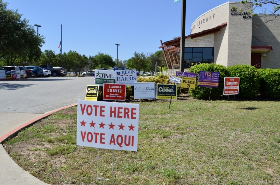 Three council member seats were on the May 1 ballot. (Taylor Girtman/Community Impact Newspaper)