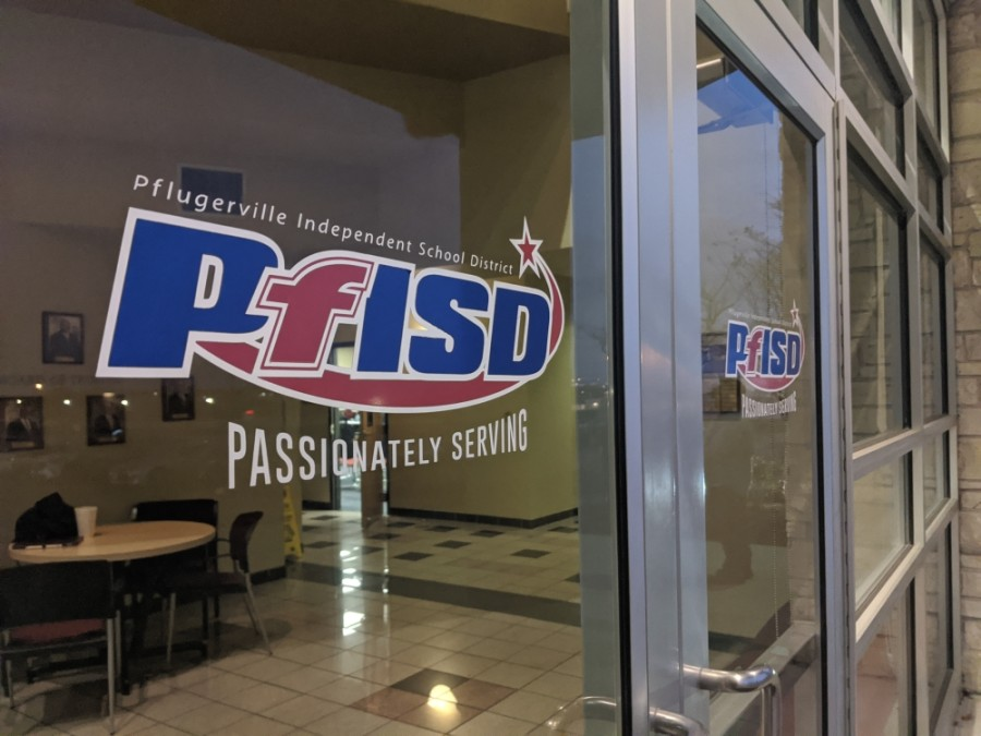 PfISD sign