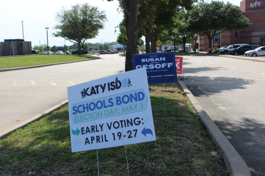 The majority of Katy ISD voters who cast their ballots in the May 1 election voted in favor of a $676.23 million bond package. (Morgan Theophil/Community Impact Newspaper)