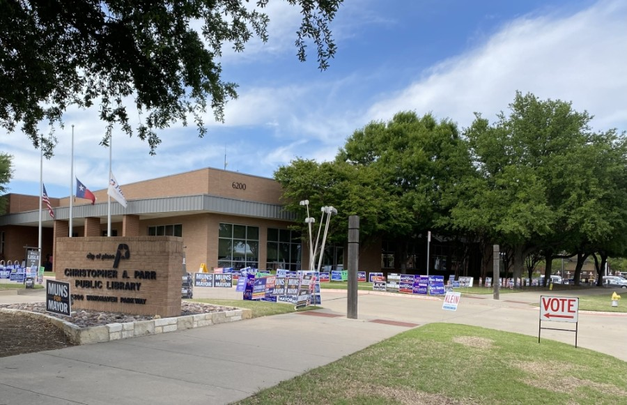 Plano voters approved all six of the city's bond propositions, elected a mayor, council members and Plano ISD board members. (Rebecca Anderson/Community Impact Newspaper)