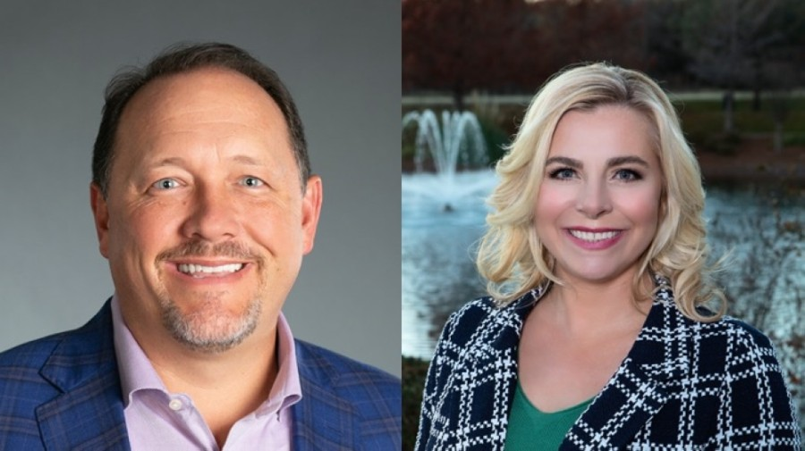 Randy Robbins and Amy Torres-Lepp are Southlake City Council's newest members. (Courtesy Robbins and Torres-Lepp)