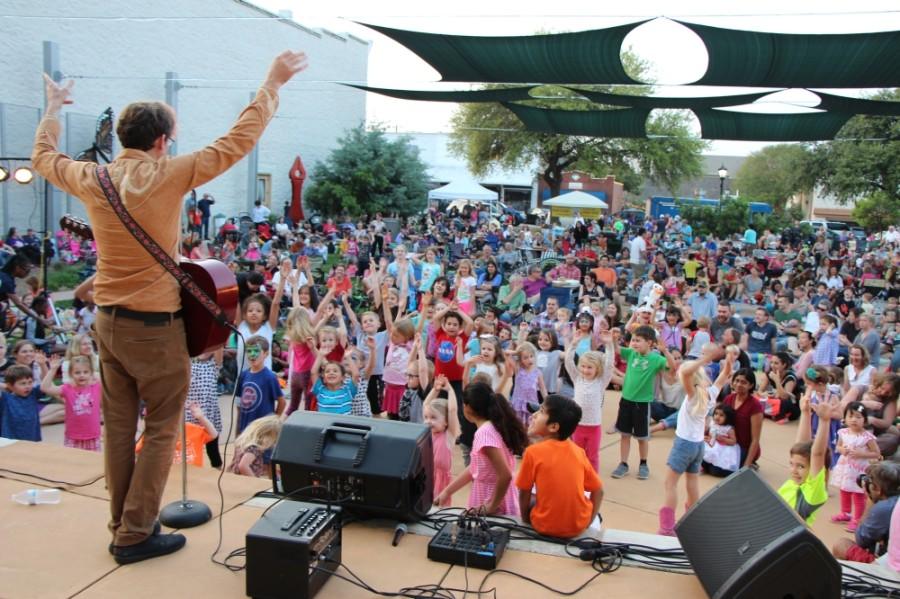 On weekends in May, families are invited to attend this free outdoor music series with food vendors on-site at Prete Main Street Plaza, 221 E. Main St., Round Rock. (Courtesy city of Round Rock)