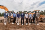 A groundbreaking was held April 22 for The Medical Center of Tomball. (Courtesy Arch-Con Construction)