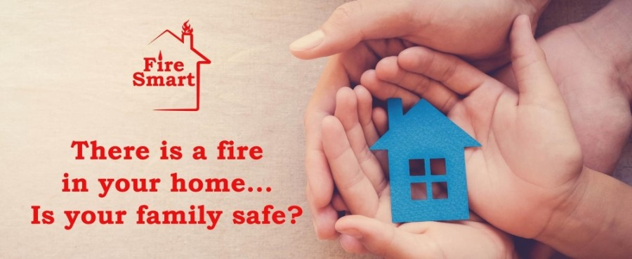 The business specializes in customized in-home consultations during which families will receive a fire safety plan specific to their house's floor plan and an age-appropriate, individualized plan for each family member. (Courtesy Fire Smart, LLC)
