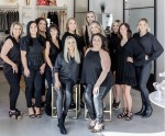 The business features an upscale hair salon and boutique. (Courtesy Bonjour Belle Salon and Suites)