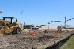 SH 130 and Pecan Street intersection project in Pflugerville (Megan Cardona/Community Impact Newspaper)
