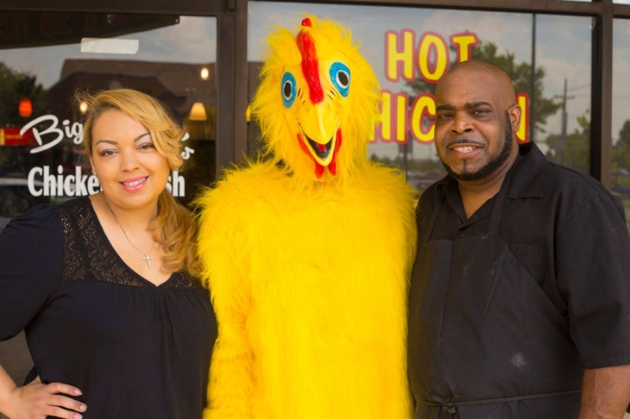 Owners Robin and Shawn Davis opened the Franklin location of Big Shake's Hot Chicken & Fish on Murfreesboro Road in 2014. (Photos courtesy Big Shake's Hot Chicken & Fish)