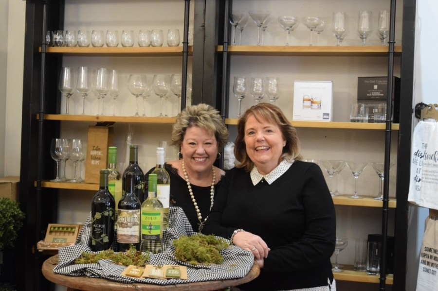 From left: Kathy Pollard and Michelle Morrical are the owners of Mitzi's Sonoma. (Matt Payne/Community Impact Newspaper)