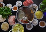 Haidilao Hot Pot has opened in Frisco. (Iain Oldman/Community Impact Newspaper)