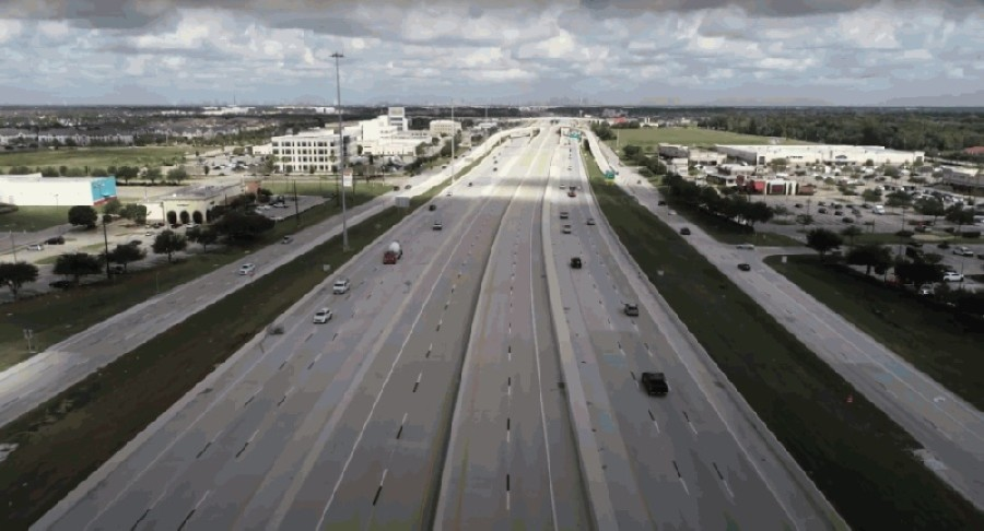 The Brazoria County Expressway and the Hwy. 288 toll lanes in Harris County opened in November. (Courtesy Brazoria County)