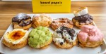 Beard Papa's allows patrons to build their own cream puffs by choosing from eight types of cream puff shells and eight cream filling flavors. (Courtesy Beard Papa's)