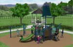 Huffington Park will soon see some key improvements. (Courtesy city of West University Place)