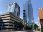 Photo of the Indeed Tower in downtown Austin