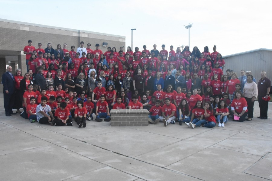 The inaugural cohort of Cy-Fair ISD's College Academy will also graduate from Cypress Lakes High School on May 29. (Courtesy Lone Star College-CyFair)