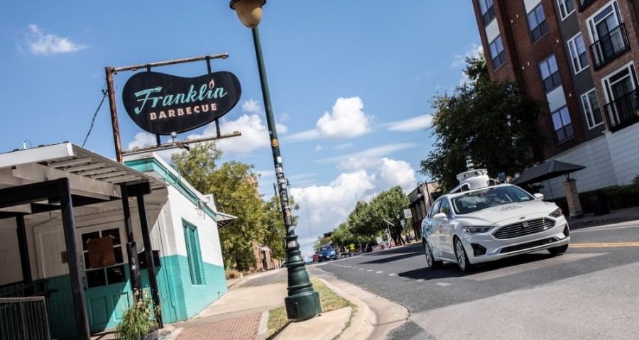 The city of Austin's Smart Mobility Office has partnered with Ford on self-driving vehicle initiatives. (Courtesy Ford Motor Company)