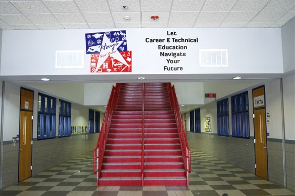 Hays CISD passed three of its six bond propositions in the May 2021 election but did not receive approval for a $29.8 million administration building. (Community Impact Staff)