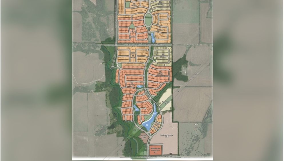 A new residential community called Stover Creek was on the McKinney City Council agenda June 1. (Courtesy city of McKinney)