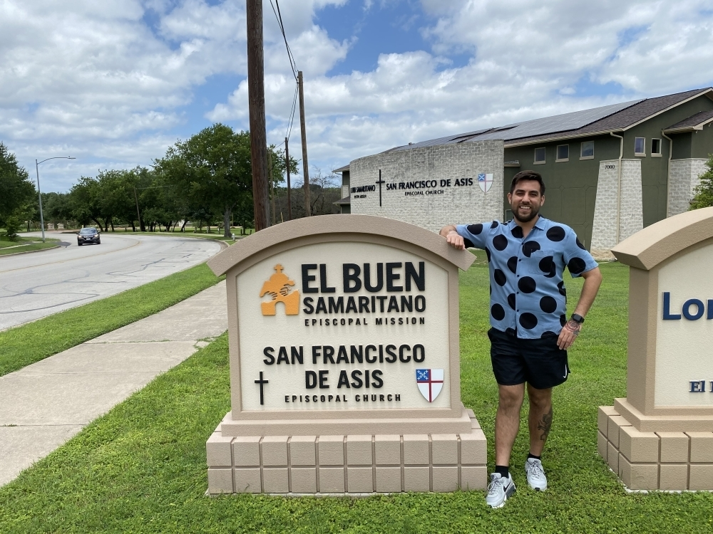 David Bustamente is senior project manager at El Buen Samaritano, a nonprofit that provides education, health access, financial assistance and more with a focus on the Latino and Spanish-speaking community. (Trent Thompson/Community Impact Newspaper)