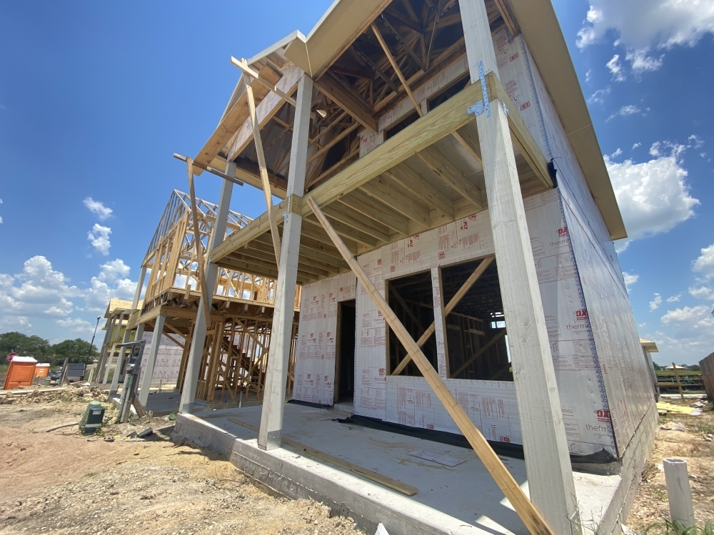 Construction has been ramping up in neighborhoods throughout Texas to meet the demand for housing. (Brian Rash/Community Impact Newspaper)